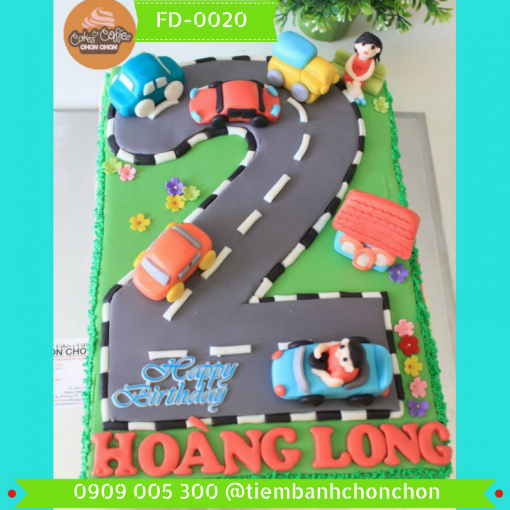 Bánh kem Fondant 0020