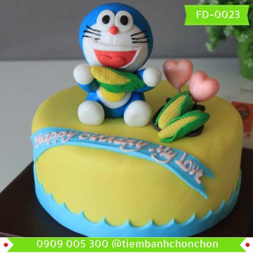 Bánh kem Fondant 0023