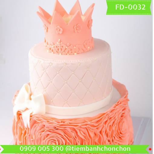Bánh kem Fondant 0032