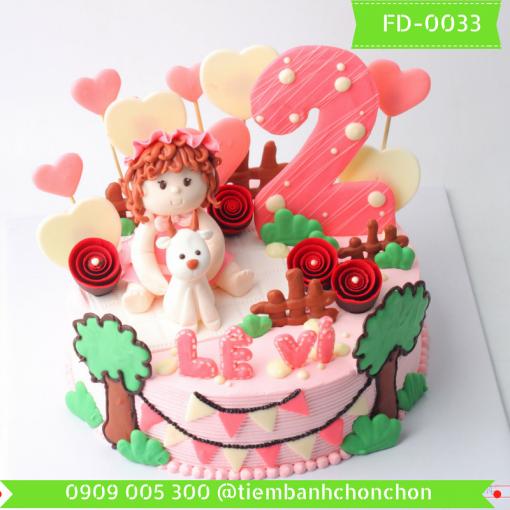 Bánh kem Fondant 0033