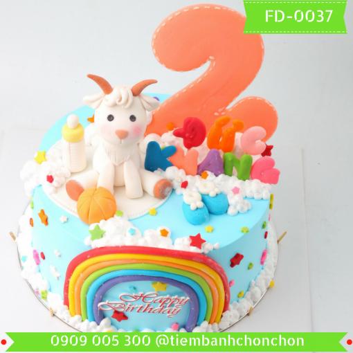 Bánh kem Fondant 0037