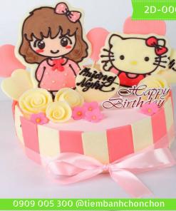 Bánh kem vẽ 2D 0001