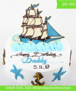 Bánh kem vẽ 2D 0025