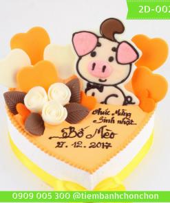 Bánh kem vẽ 2D 0027