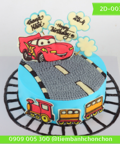 Bánh kem vẽ 2D 0036