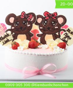 Bánh kem vẽ 2D 0063