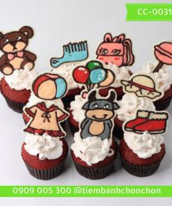 Bánh CupCake Cho Bé Dễ Thương MS CC-0031