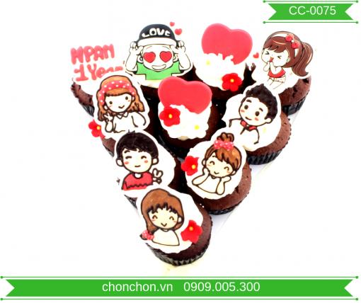 Bánh CupCake Dành Cho Bạn Dễ Thương MS CC-0075