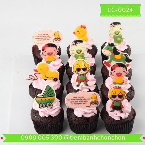 Bánh CupCake Dành Cho Bé Dễ Thương MS CC-0024