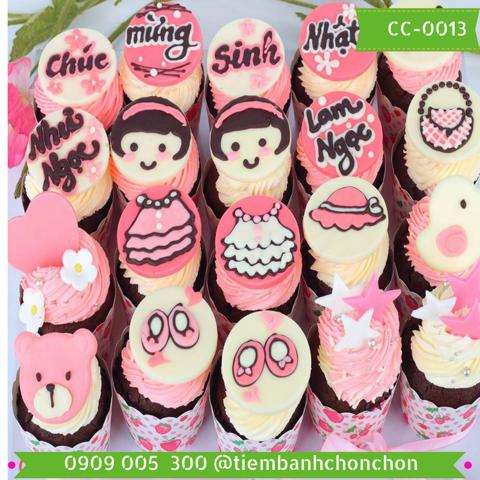Bánh CupCake Dành Cho Bé Gái Dễ Thương MS CC-0013