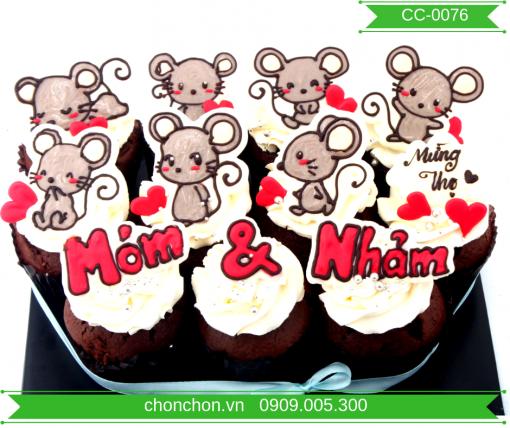 Bánh CupCake Dành Cho Bé Tuổi Chuột MS CC-0076