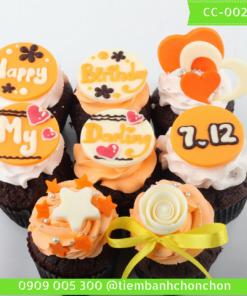 Bánh Cupcake Dành Cho Tình Yêu MS CC-0022