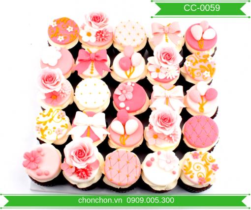 Bánh CupCake Dễ thương Cho Bé Gái MS CC-0059