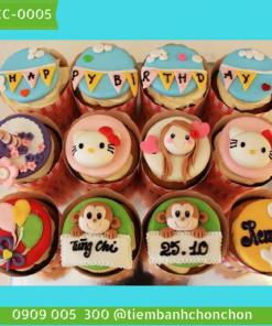 Bánh CupCake Dễ Thương Dành Cho Bạn Gái MS CC-0005