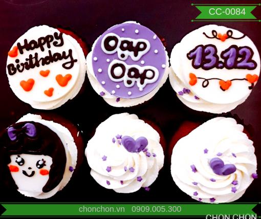 Bánh CupCake Dễ Thương Dành Cho Bạn Gái MS CC-0084