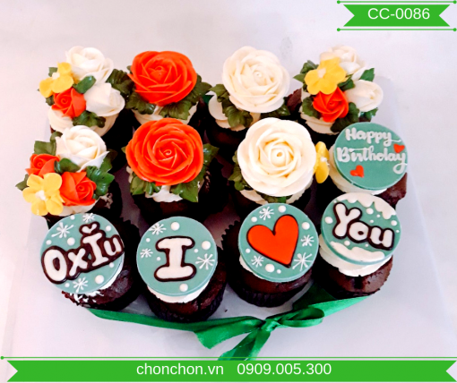 Bánh CupCake Dễ Thương Dành Cho Bạn Gái MS CC-0086