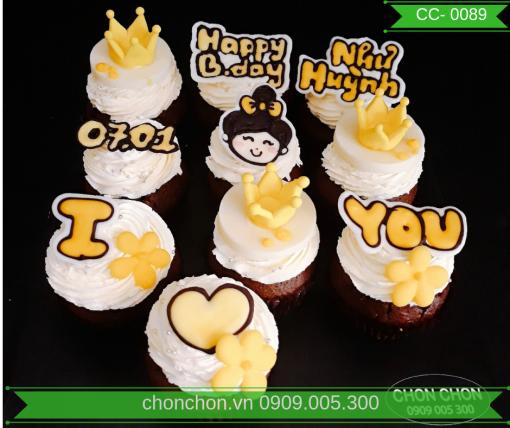 Bánh CupCake Dễ Thương Dành Cho Bạn Gái MS CC-0089
