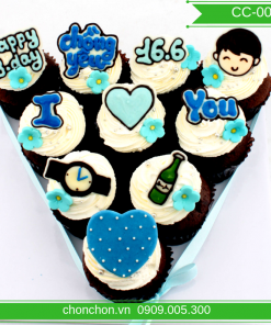 Bánh CupCake Dễ Thương Dành Cho Bạn Trai MS CC-0056