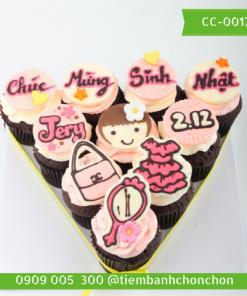Bánh CupCake Dễ Thương Dành Cho Bé Gái MS CC-0017