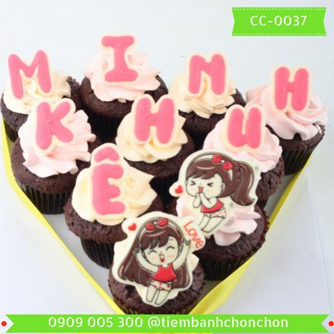Bánh Cupcake Dể Thương Dành Cho Bé Gái MS CC-0037