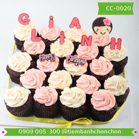 Bánh CupCake Dễ Thương Dành Cho Bé MS CC-0020
