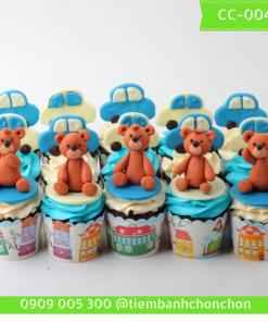Bánh CupCake Dễ Thương Dành Cho Bé MS CC-0040