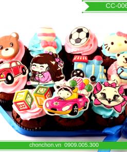 Bánh CupCake Dễ Thương Dành Cho Bé MS CC-0062
