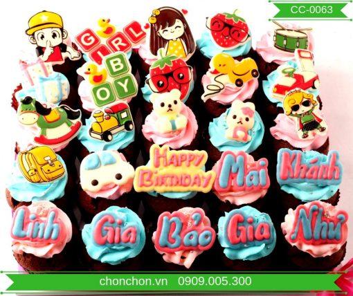 Bánh CupCake Dễ Thương Dành Cho Bé MS CC-0063