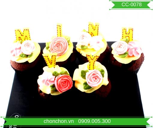 Bánh CupCake Dễ Thương Dành Cho Bé MS CC-0078