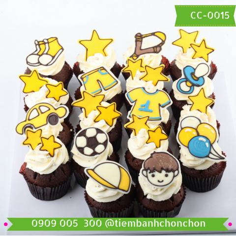 Bánh CupCake Dễ Thương Dành cho Bé Trai MS CC-0015