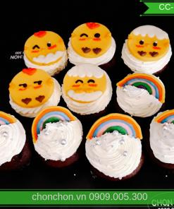 Bánh CupCake Dễ Thương Dành Cho Bé Tuổi Gà MS CC-0090