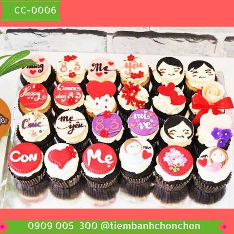 Bánh CupCake Dễ Thương Dành Cho Mẹ MS CC-0006