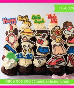 Bánh CupCake Dễ Thương Dành Cho Nàng Điệu Đà MS CC-0029