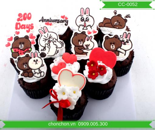 Bánh CupCake Dễ Thương Dành Cho Tình Yêu MS CC-0052