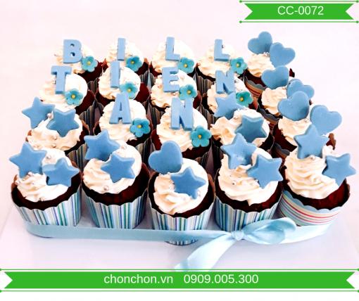 Bánh Cupcake Dễ Thương Đơn Giản Dành Cho Bé MS CC-0072