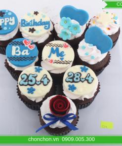 Bánh CupCaKe Dễ Thương Đơn Giản MS CC-0049