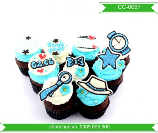 Bánh CupCake Dễ Thương Đơn Giản MS CC-0057