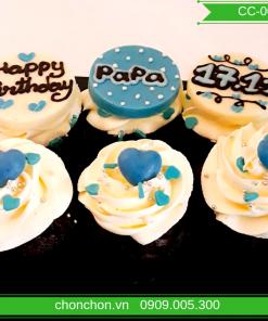 Bánh Cupcake Đơn Giản Dễ Thương MS CC-0070