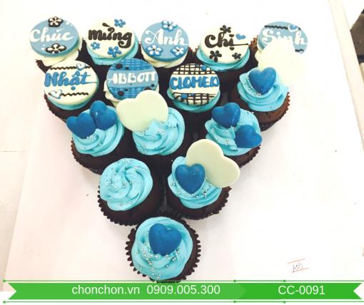 Bánh CupCake Đơn Giản Dễ Thương MS CC-0091