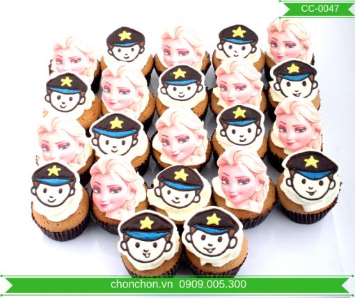 Bánh Cupcake Elasa Dễ Thương Dành Cho Bé MS CC-0047