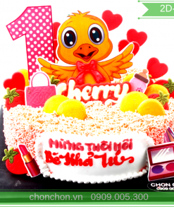 Bánh Kem Dành Cho Bé Tuổi Gà Dễ Thương MS 2D-0147