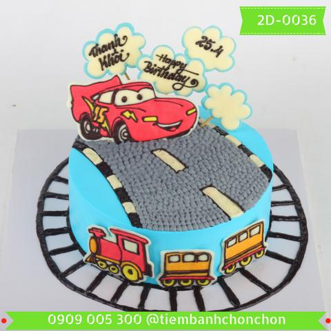Bánh Kem Dễ Thương Dành Cho Bé Trai MS 2D-0036