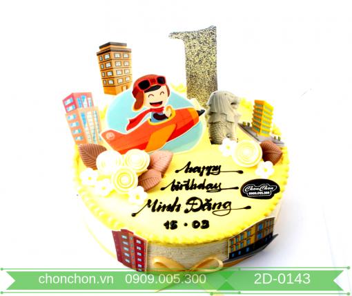 Bánh Kem Dễ Thương Dành Cho Bé Trai MS 2D-0143