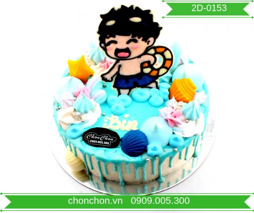 Bánh Kem Dễ Thương Dành Cho Bé Trai MS 2D-0153