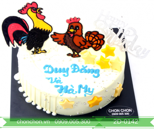 Bánh Kem Dễ thương Dành Cho Bé Tuổi Gà MS 2D-0142