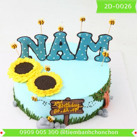 Bánh Kem Dễ Thương Dành Cho Nam MS 2D-0026