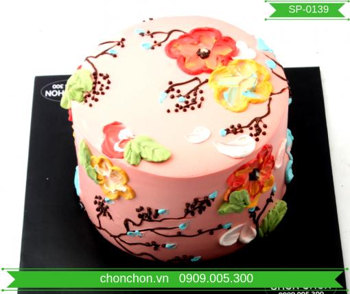 Bánh Kem Dễ Thương Đơn Giản Dành Cho Bạn Gái MS SP-0139