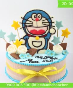 Bánh Kem Doraemon Dễ Thương Dành Cho Bé Thích Nhân Vật Hoạt Hình MS 2D-0030