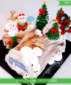 Bánh Kem Gốc Cây Noel Dễ Thương MS SP-0163