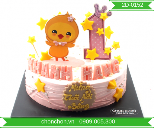 Bánh Kem Hình Gà Dễ Thương Dành Cho Bé Tuổi Gà MS 2D-0152